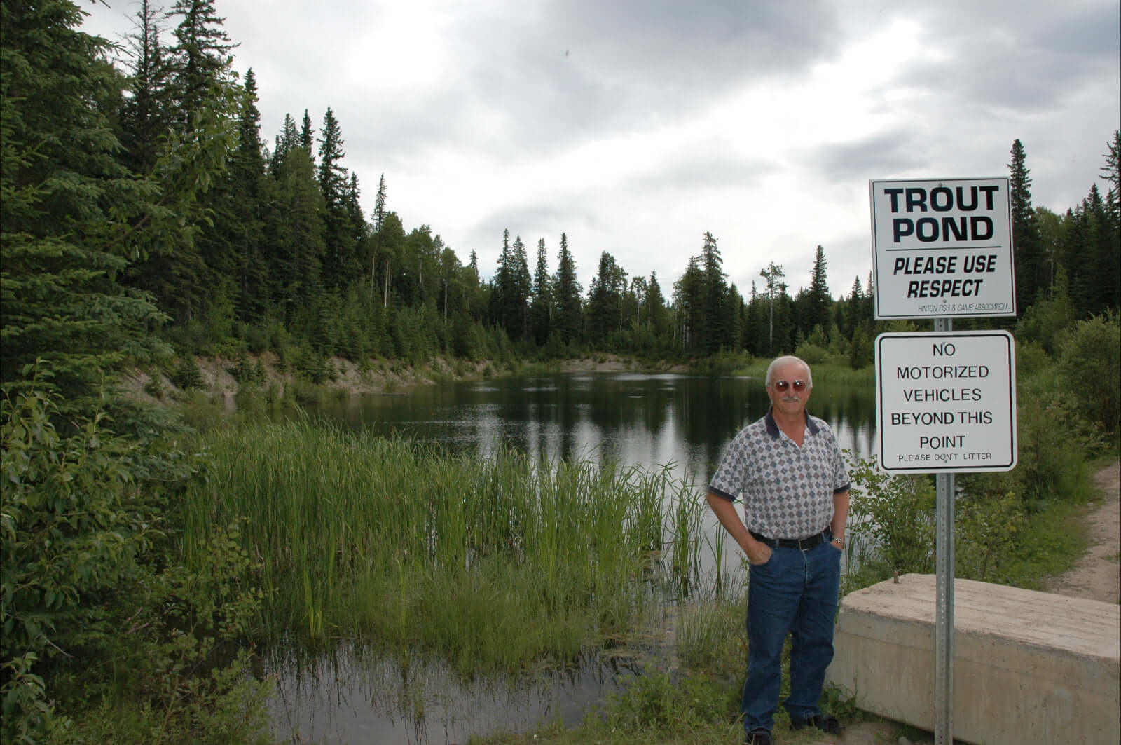 The Hinton Fish and Game Association maintains the Trout Pond on Highway 40 north, which is regularly stocked.