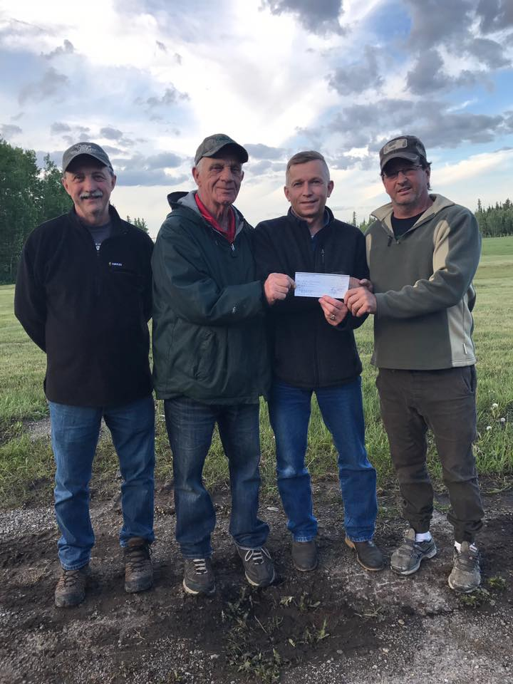 The Hinton Fish and Game Association is supported my numerous local businesses.
