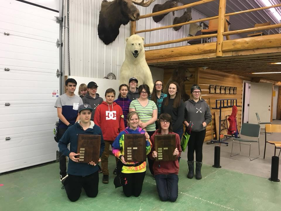 Hinton Fish and Game Association is partnered with Yellowhead Arrow launchers, and hosts and indoor archery range
