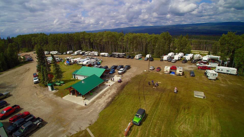 Camping is permitted during scheduled events and camping passes can be purchased online.