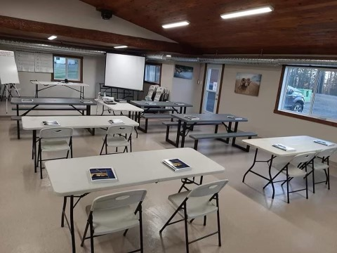Hinton Fish and Game Association facilities are available for rentals for private events, such as courses