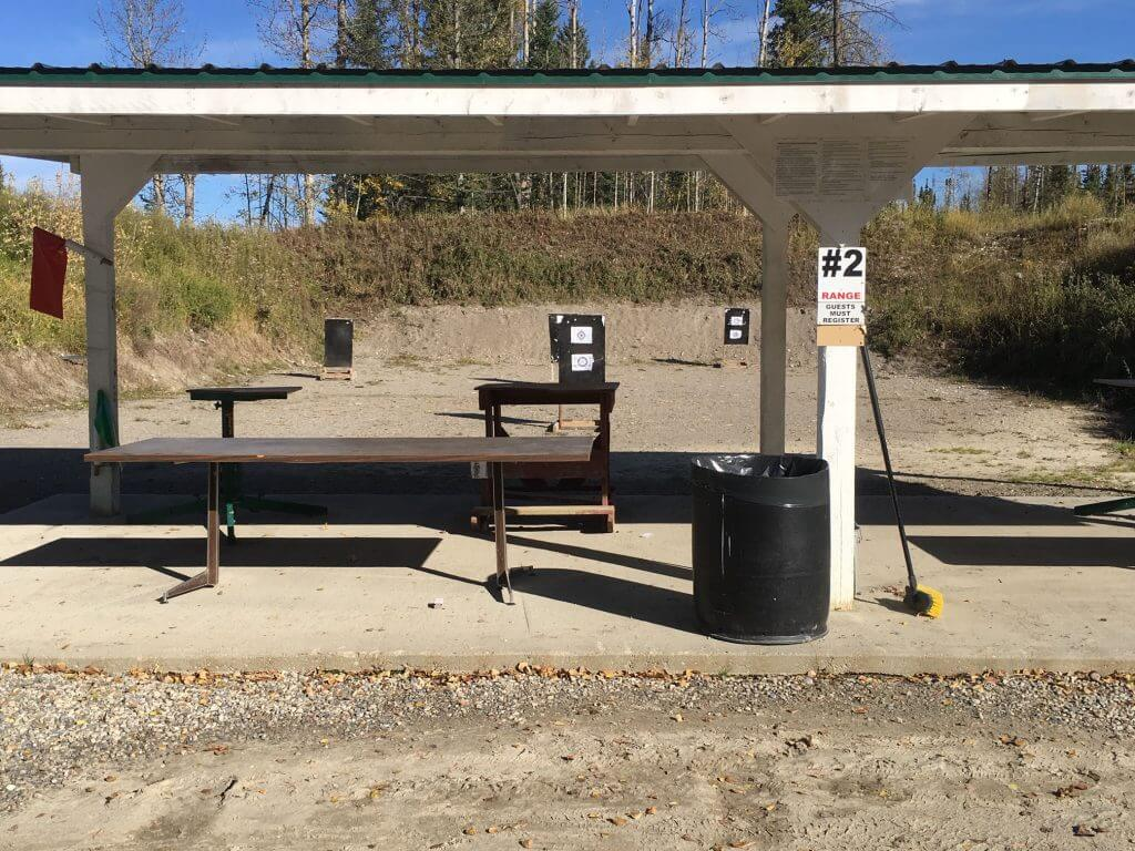 Hinton Fish and Game has a newly constructed outdoor gun range